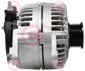 CAL10016 SIDE BOSCH Type 12V 136Amp PR7
