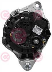CAL10024 BACK BOSCH Type 12V 150Amp PFR7