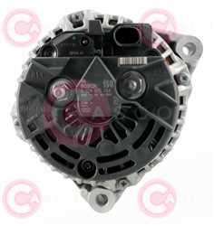 CAL10130 BACK BOSCH Type 12V 150Amp PR6