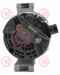 CAL10134 BACK BOSCH Type 12V 110Amp PR7