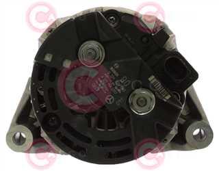 CAL10271 BACK BOSCH Type 12V 90Amp PR6