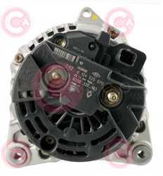 CAL10273 BACK BOSCH Type 12V 150Amp PR6