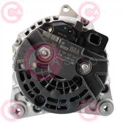 CAL10300 BACK BOSCH Type 12V 150Amp PR7