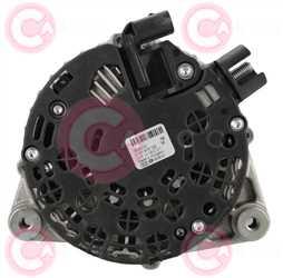 CAL10310 BACK BOSCH Type 12V 150Amp