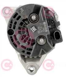 CAL10331 BACK BOSCH Type 12V 110Amp