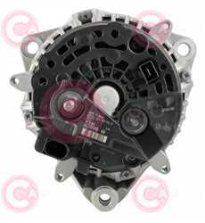 CAL10337 BACK BOSCH Type 12V 150Amp PR9