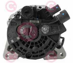CAL10369 BACK BOSCH Type 12V 150Amp PR6