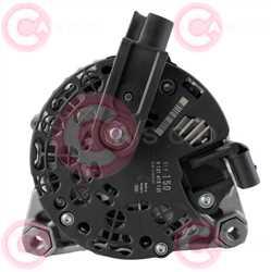 CAL10375 BACK BOSCH Type 12V 150Amp PFR6