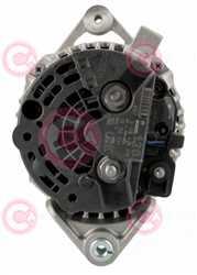 CAL10446 BACK BOSCH Type 12V 120Amp PFR5