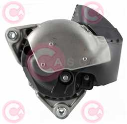CAL10456 BACK BOSCH Type 12V 140Amp PR6