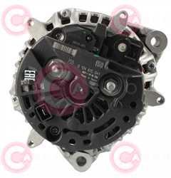 CAL10463 BACK BOSCH Type 12V 150Amp