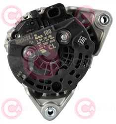 CAL10479 BACK BOSCH Type 12V 100Amp PFR5