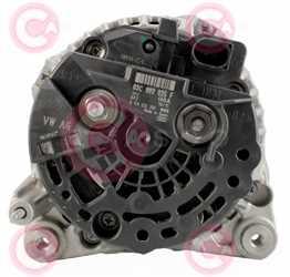 CAL10508 BACK BOSCH Type 12V 140Amp PFR6