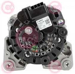 CAL10512 BACK BOSCH Type 12V 90Amp PFR3