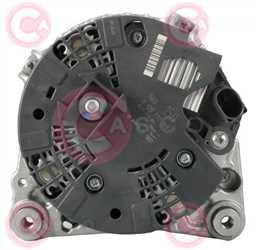 CAL10540 BACK BOSCH Type 12V 150Amp PFR6