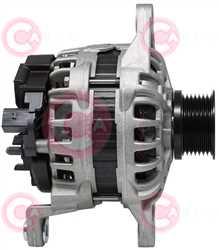 CAL10547 SIDE BOSCH Type 12V 150Amp PR7
