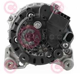 CAL10553 BACK BOSCH Type 12V 140Amp PFR6