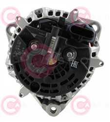 CAL10607 BACK BOSCH Type 24V 120Amp