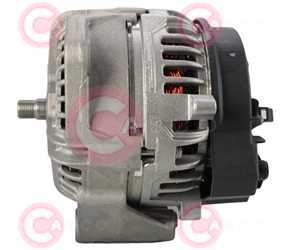 CAL10629 SIDE BOSCH Type 24V 80Amp