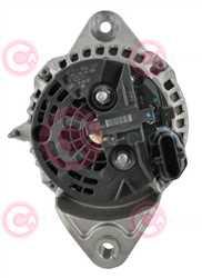 CAL10659 BACK BOSCH Type 24V 120Amp PR8