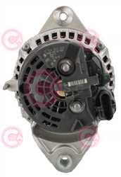CAL10667 BACK BOSCH Type 24V 150Amp PV8