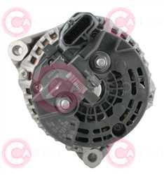 CAL10689 BACK BOSCH Type 24V 100Amp