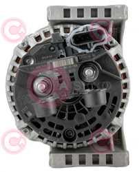 CAL10692 BACK BOSCH Type 24V 110Amp PR7