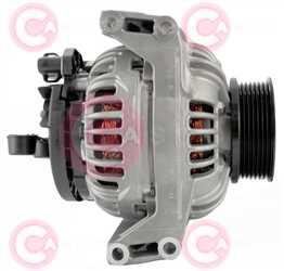 CAL10692 SIDE BOSCH Type 24V 110Amp PR7