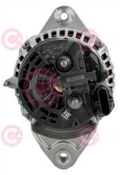 CAL10695 BACK BOSCH Type 24V 150Amp