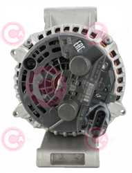 CAL10702 BACK BOSCH Type 24V 150Amp PR8