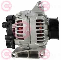 CAL10702 SIDE BOSCH Type 24V 150Amp PR8