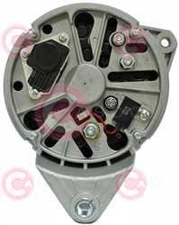 CAL10712 BACK BOSCH Type 24V 120Amp