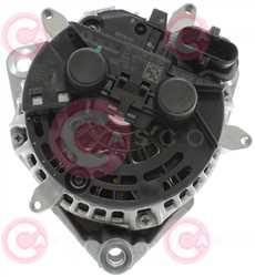 CAL10717 BACK BOSCH Type 24V 80Amp PR8