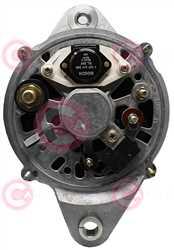 CAL10732 BACK BOSCH Type 24V 80Amp