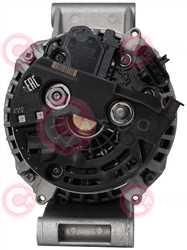 CAL10743 BACK BOSCH Type 24V 150Amp PR8