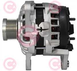 CAL10746 SIDE BOSCH Type 24V 80Amp PFR7