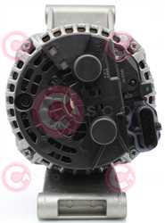 CAL10751 BACK BOSCH Type 24V 120Amp PR8