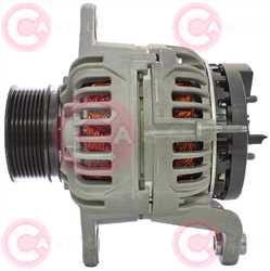CAL10755 SIDE BOSCH Type 24V 150Amp PR8