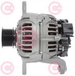 CAL10766 SIDE BOSCH Type 24V 150Amp PR8
