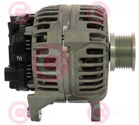 CAL10A38 SIDE BOSCH Type 12V 140Amp PFR7