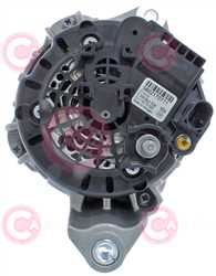 CAL10A40 BACK BOSCH Type 12V 150Amp PR7