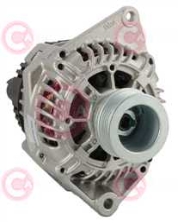 CAL15000 FRONT VALEO Type 12V 110Amp PR6