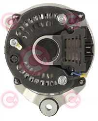 CAL15005 BACK VALEO Type 12V 70Amp PV1