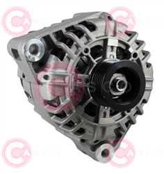 CAL15012 FRONT VALEO Type 12V 120Amp PR6