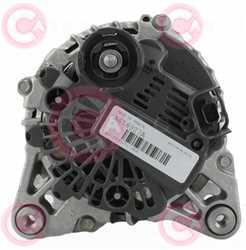 CAL15017 BACK VALEO Type 12V 150Amp PFR7