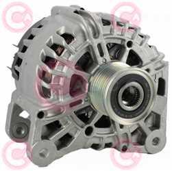 CAL15017 FRONT VALEO Type 12V 150Amp PFR7