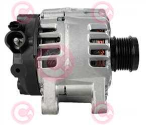 CAL15030 SIDE VALEO Type 12V 180Amp PFR6