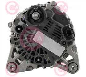 CAL15032 BACK VALEO Type 12V 150Amp PFR6