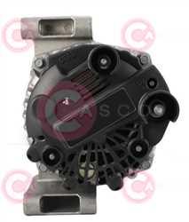 CAL15033 BACK VALEO Type 12V 120Amp PR6