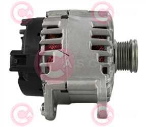 CAL15046 SIDE VALEO Type 12V 140Amp PFR6